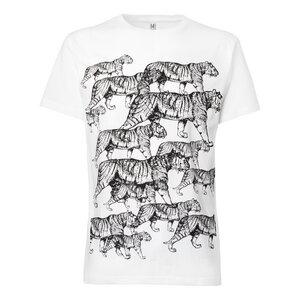 ThokkThokk Tiger T-Shirt black/white - THOKKTHOKK
