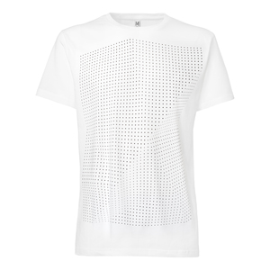 ThokkThokk Crooked Dots T-Shirt black/white - THOKKTHOKK