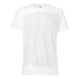 ThokkThokk Crooked Dots T-Shirt black/white - THOKKTHOKK