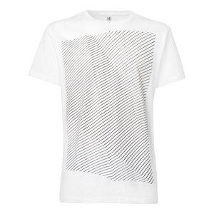 ThokkThokk Crooked Stripes T-Shirt black/white - THOKKTHOKK
