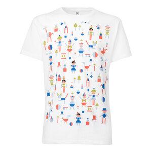 ThokkThokk Play T-Shirt white - THOKKTHOKK