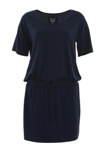 IKEN: T-Shirt Kleid mit Taillenband - Daily's by DNB