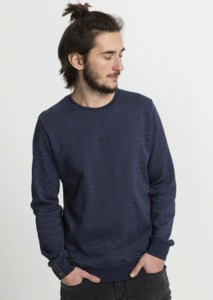 Crew Neck Jacquard - recolution