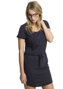 Fair trade Kleid Frauen SHIRTDRESS  - recolution
