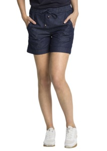 Fair trade Shorts Frauen CLASSIC #DENIM DOTS dark denim blue - recolution