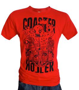 'Wollie', T-Shirt aus Biobaumwolle - Coaster Roller