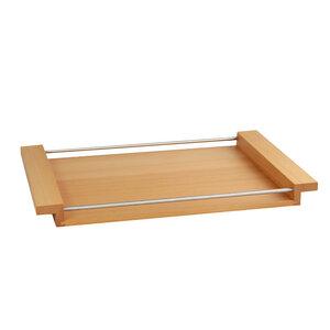 Holztablett NH-M Buche Auswahl 3 Größen 65 x 43 cm / 55 x 36 cm / 45 x 29 cm - NATUREHOME