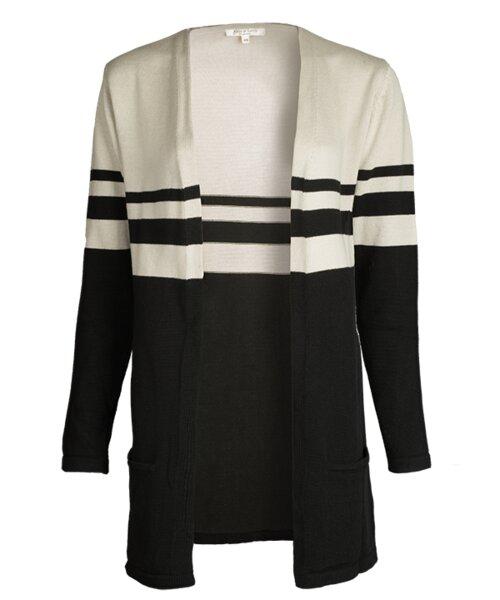 f966a9b514cb19 Alma & Lovis - Stripe Jacket raven   Avocadostore