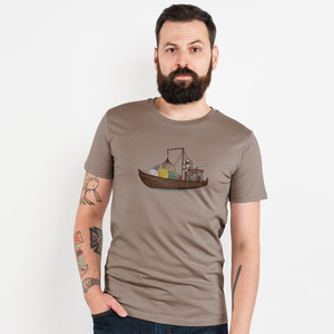 Robert Richter – Planet Smuggler - Mens Low Carbon Organic Cotton T - Nikkifaktur