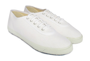 Startas White Canvas Sneaker Low - Startas