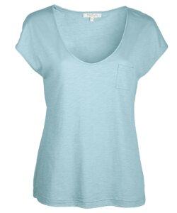V-Neck Shirt bleu - Alma & Lovis
