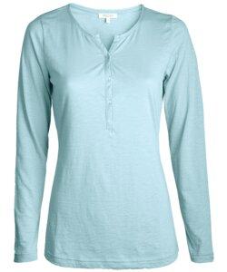 Alma & Lovis Blouse Shirt bleu - Alma & Lovis