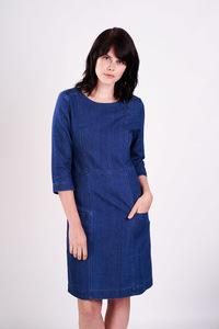 Irby Denim Day Dress - bibico