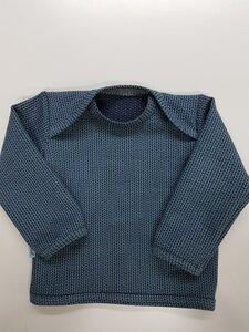 Babyshirt Knit-Knit navyblue - Omilich