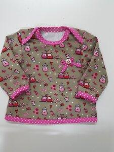 Babyshirt kleine Eulen - Omilich
