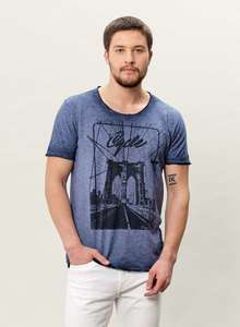 MOR-3059 HERREN G.DYED T-SHIRT - ORGANICATION