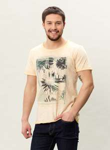 MOR-3017 HERREN G.DYED T-SHIRT - ORGANICATION