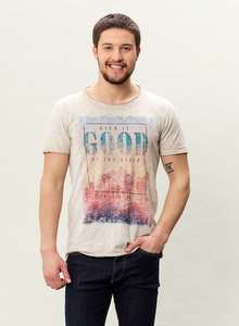 MOR-3013 HERREN G.DYED T-SHIRT - ORGANICATION