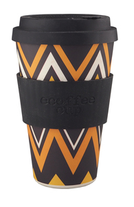 ecoffee cup Bambusbecher To Go ZignZagn - ecoffee