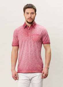 HERREN G.DYED POLO SHIRT - ORGANICATION