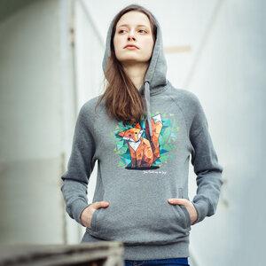 Julius Muschalek – Jede Nacht auf der Jagd - Ladies Organic Hoodie - Nikkifaktur