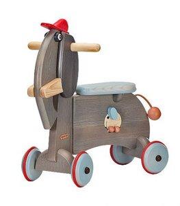 Rutschtier aus Holz Elephant wunderschön lackiert toll für die Kleinen - Janoschik
