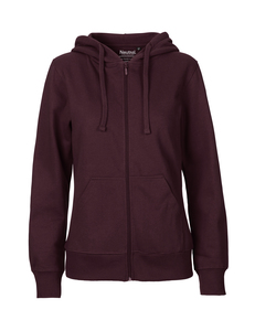 Frauen Hoodie Zipped - Neutral® - 3FREUNDE
