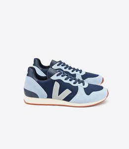 SNEAKER - HOLIDAY LOW TOP SUEDE B-MESH NAUTICO STEEL  - Veja