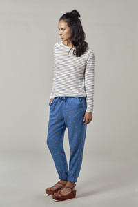 BRETONA JUMPER - NATURAL STRIPE - Komodo