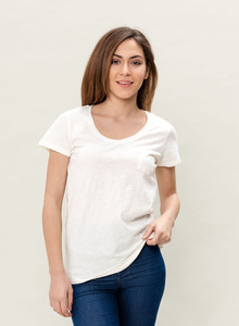 WOR-3070 DAMEN T-SHIRT - ORGANICATION