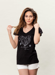 WOR-3085 DAMEN T-SHIRT - ORGANICATION
