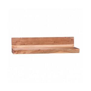 RELAXFAIR Wandregal Bücherregal 80 cm Massiv-Holz FSC-zertifiziert - RELAXFAIR