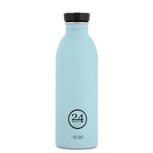 24bottles 0,5l Edelstahl Trinkflasche - verschiedene Pastell-Töne - 24bottles