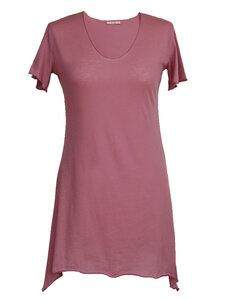BUTTERFLY T-Shirt - malva - woodlike