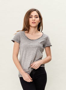 WOR-3081 DAMEN T-SHIRT - ORGANICATION