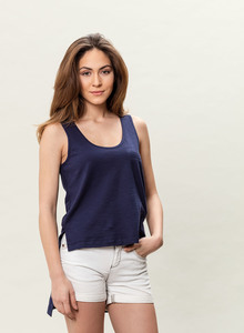 WOR-3177 DAMEN TOP - ORGANICATION