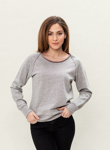 WOR-3109 DAMEN RAGLAN SWEATER - ORGANICATION
