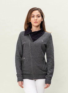 WOR-3104 DAMEN SWEATJACKE - ORGANICATION