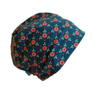 Mütze 'Line' Blumen und Herzen - bingabonga