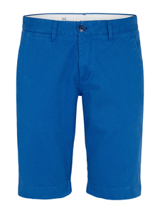 Twisted Twill Shorts - Turkish See - himmelblau GOTS - KnowledgeCotton Apparel