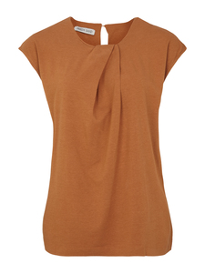 RI Sleeveless Shirt - Cashew - Frieda Sand