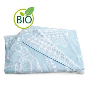 Baby-Baumwolldecke mit Kindermotiv - Sonnenstrick