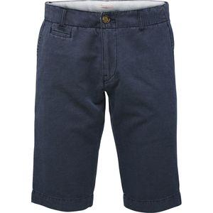 Chino Fit Shorts - Total Eclipse - COTTON & LEINEN - KnowledgeCotton Apparel