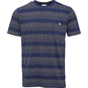 Narrow Yarndyed Stripes T-Shirt - GOTS - KnowledgeCotton Apparel
