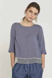 LANIUS- Bluse French Dots - Lanius