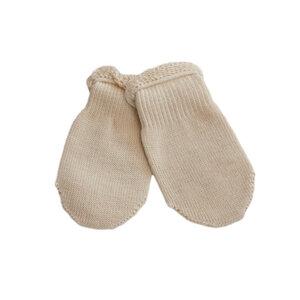 Babyhandschuhe aus Bio-Baumwolle - Sonnenstrick