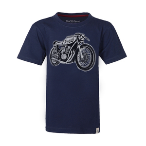 Kinder T-Shirt mit Motorradmotiv - Band of Rascals