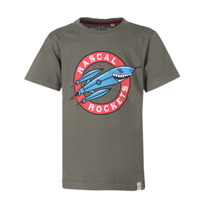 Kinder T-Shirt mit Rakete  - Band of Rascals
