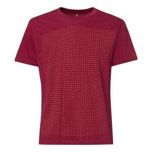 ThokkThokk Crooked Dots T-Shirt saffron/ruby - THOKKTHOKK