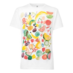 ThokkThokk Fruits T-Shirt white - THOKKTHOKK